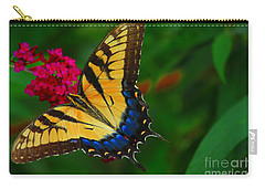 Carry-all Pouch featuring the photograph Butterfly by Geraldine DeBoer