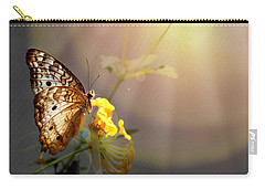 Butterfly Glow Carry-all Pouch by Judy Vincent