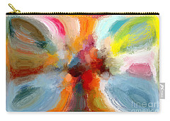 Butterfly In Abstract Carry-all Pouch