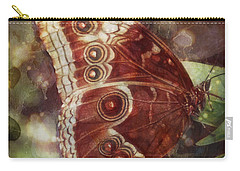 Butterfly In My Garden Carry-all Pouch