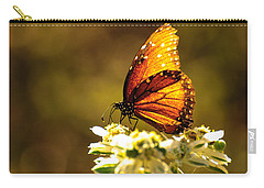 Butterfly In Sun Carry-all Pouch