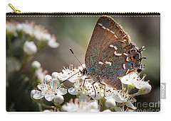Butterfly In The Garden Carry-all Pouch
