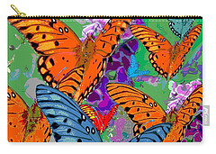 Butterfly Joy Carry-all Pouch by Mary Armstrong