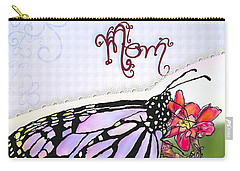 Butterfly Kisses Carry-all Pouch