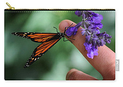 Carry-all Pouch featuring the photograph Butterfly by Leticia Latocki