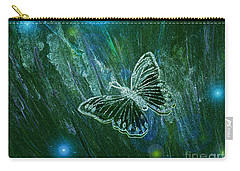 Butterfly Magic By Jrr Carry-all Pouch by First Star Art
