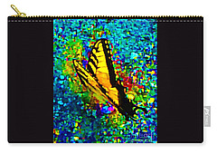 Butterfly Mosaic Carry-all Pouch