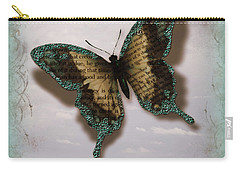 Butterfly Of Transformation Carry-all Pouch by Bobbee Rickard