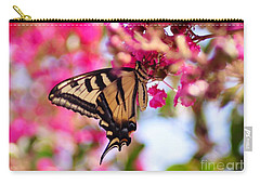 Butterfly On The Crepe Myrtle. Carry-all Pouch