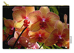 Carry-all Pouch featuring the photograph Butterfly Orchids by Rodney Lee Williams