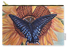 Butterfly Sunday Up-close Carry-all Pouch