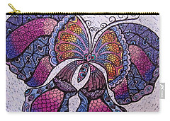 Butterfly Tangle Carry-all Pouch