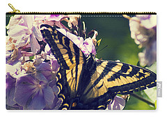 Carry-all Pouch featuring the photograph Butterfly by Yulia Kazansky