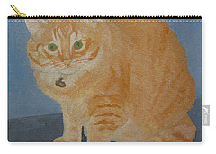 Butterscotch The Cat Carry-all Pouch