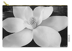 B W Magnolia Blossom Carry-all Pouch by D Hackett