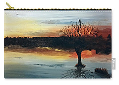 By The Lake Carry-all Pouch