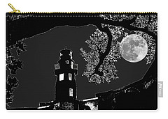 Carry-all Pouch featuring the photograph By The Light by Robert McCubbin