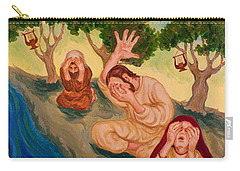 By The Rivers Of Babylon - Psalm 137 Carry-all Pouch by Michele Myers