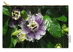 Carry-all Pouch featuring the photograph Byron Beauty by Ron Davidson