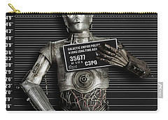 C-3po Mug Shot Carry-all Pouch