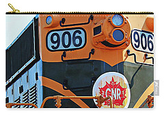 C N R Train 906 Carry-all Pouch by Barbara Griffin