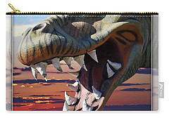 Cabazon Dinosaur Carry-all Pouch by Walter Herrit