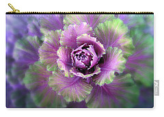 Cabbage Flower Carry-all Pouch by Jessica Jenney