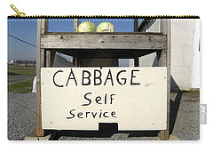Cabbage Self Service Carry-all Pouch