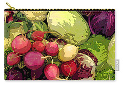 Cabbages And Radishes Carry-all Pouch