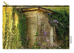 Cabin In The Back Carry-all Pouch by Rodney Lee Williams