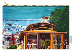 Cable Car No. 17 Carry-all Pouch by Mike Robles