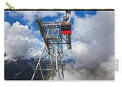cableway in Italian Dolomites Carry-all Pouch
