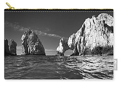 Cabo In Black And White Carry-all Pouch