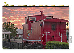 Caboose 1 Carry-all Pouch by Walter Herrit
