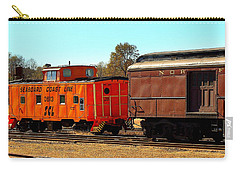 Caboose And Car Carry-all Pouch