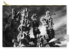 Cactus 2 Bw Carry-all Pouch