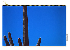 Cactus And Moon Carry-all Pouch