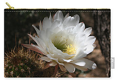 Cactus Flower Full Bloom Carry-all Pouch