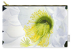 Cactus Flower II Carry-all Pouch by Mike Robles