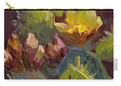 Cactus In Bloom 1 Carry-all Pouch