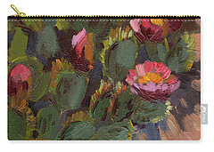 Cactus In Bloom 2 Carry-all Pouch