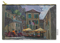 Cafe In Old City Carry-all Pouch