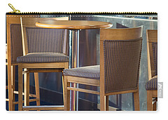 Carry-all Pouch featuring the photograph Cafe by Patricia Babbitt