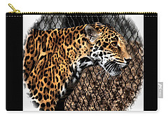 Caged Jaguar Carry-all Pouch