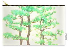 Caitlin Elm Bonsai Tree Carry-all Pouch by Marian Cates