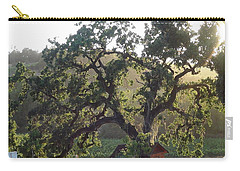 Carry-all Pouch featuring the photograph Cali Setting by Shawn Marlow