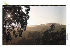 Carry-all Pouch featuring the photograph Cali Sun Set by Shawn Marlow