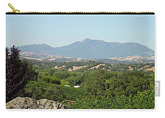 Carry-all Pouch featuring the photograph Cali View by Shawn Marlow