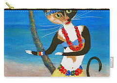 Calico Hula Queen Carry-all Pouch
