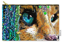 Calico Indian Bride Cats In Hats Carry-all Pouch